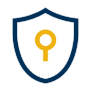 Icon for Secure: a shield