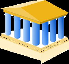 Illustration for Governance: a pantheon temple