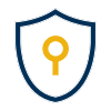 Icon for Security: shield