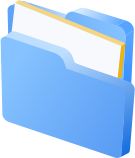 Illustration of Management: a folder